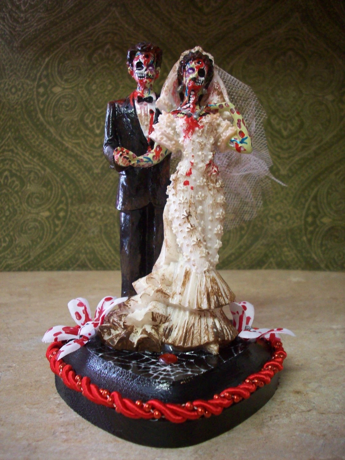 Items Similar To SALE ZOMBIE BRIDE AND GROOM WEDDING