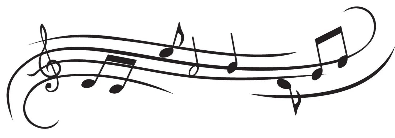 Music Notes-Whimsical Style Decal Vinyl by