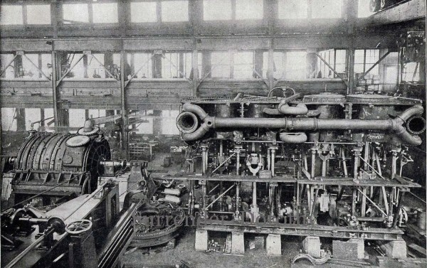 Titanic Triple Expansion Marine Steam Engine 1912 Rotogravure
