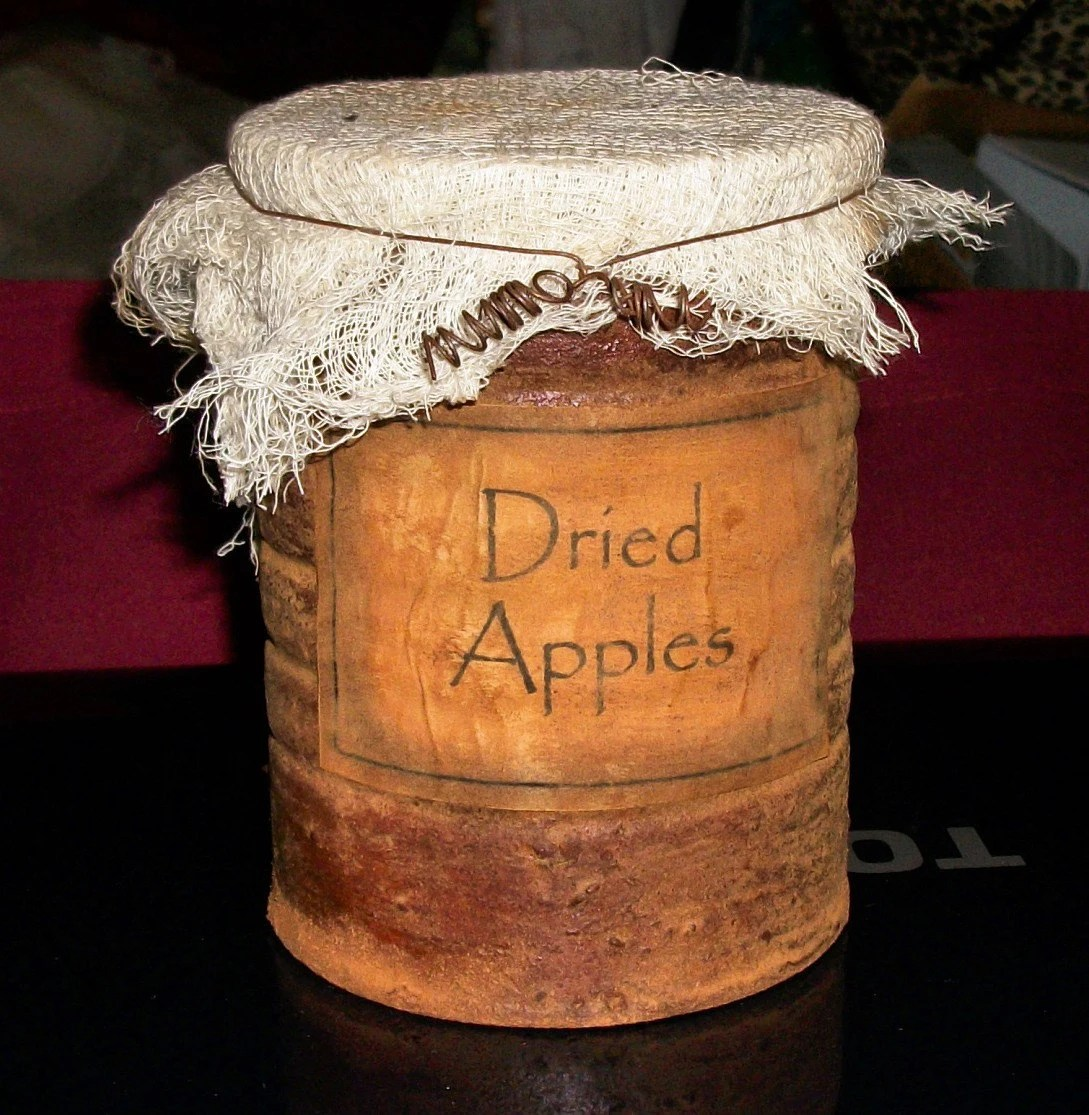 Primitive Pantry Jar Labels and Grungy CanJar Instructions