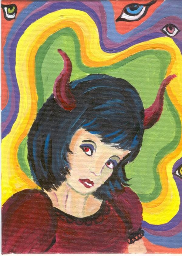 Psychedelic Horror Art