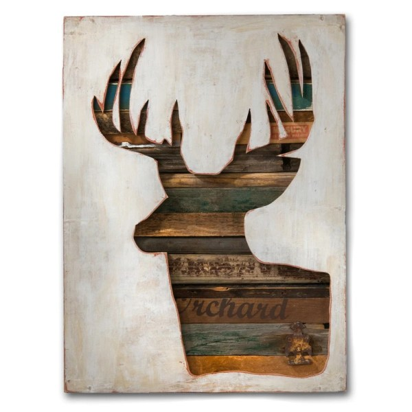 Wood Wall Art Deer