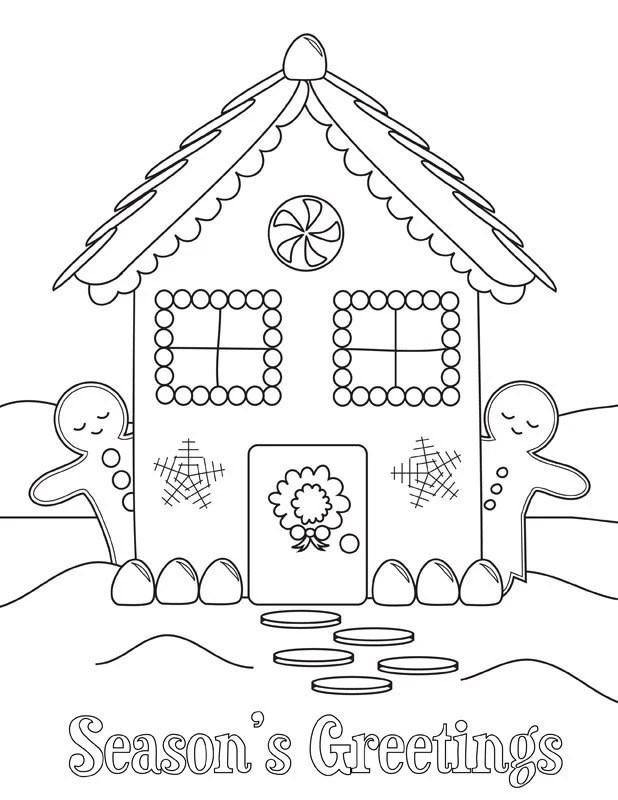 Items similar to printable holiday coloring sheets on Etsy