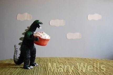 Godzilla Birthday Cards