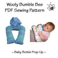 Items similar to Baby Bottle Prop-up Holder PDF Pattern on ...