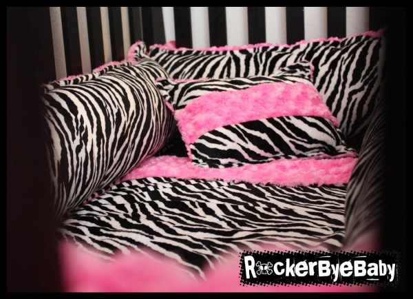 Animal Print Baby Crib Bedding