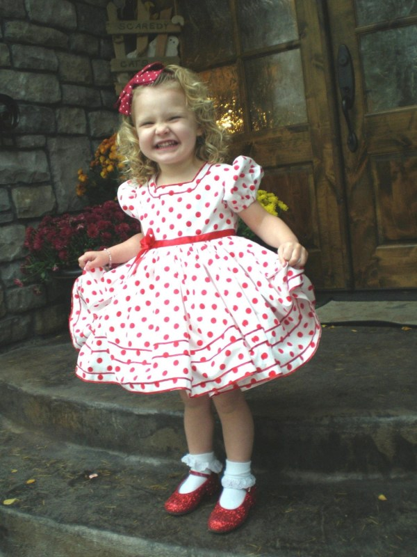 Shirley Temple Dress Costume Church Pageant Play Talent