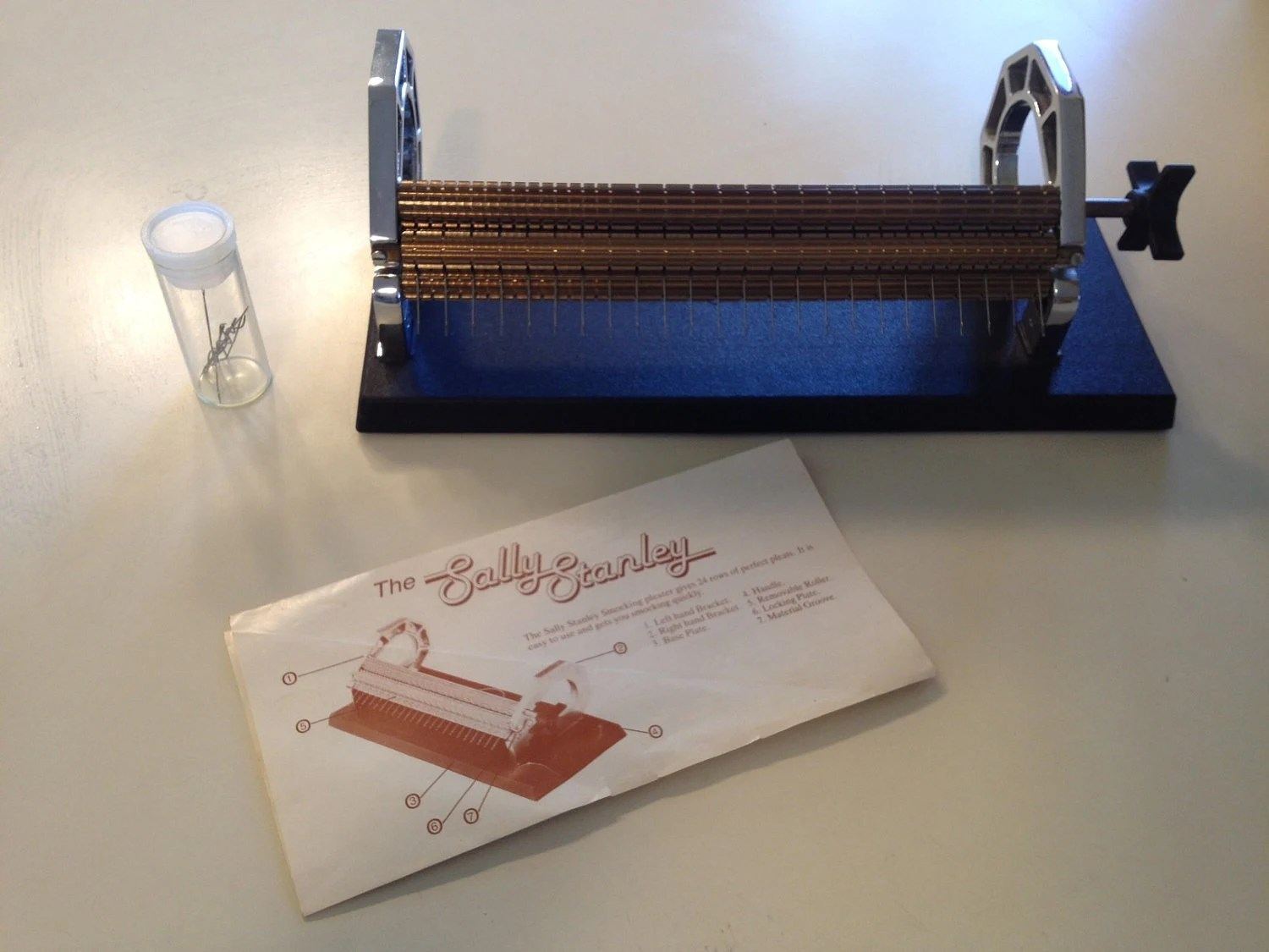 Sally Stanley Smocking Pleater Needles