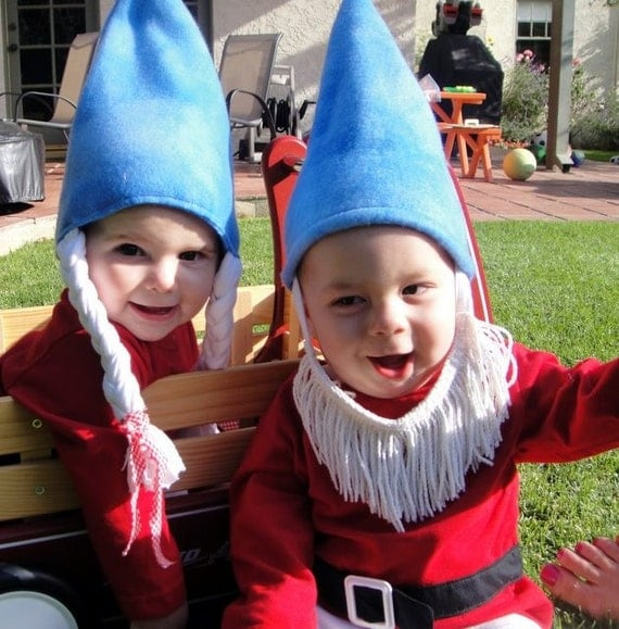 SALE  Big KiDs Gnome Costume  Size 2 T 3T 4T 5T LONG sleeves FRee ShiPPing USA - TheRadicalThreadCo