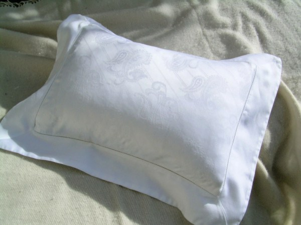 Boudoir Pillow Sham Vintage Estate Linens