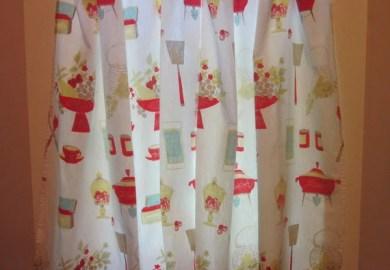 Peach Kitchen Curtains