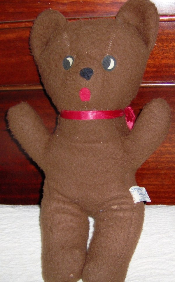 Items similar to VINTAGE Knickerbocker Teddy Bear RARE