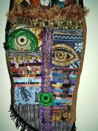 African Mask Wall Art 2