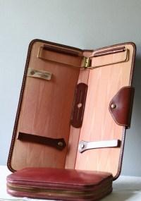 vintage travel tie case organizer by ModishVintage on Etsy