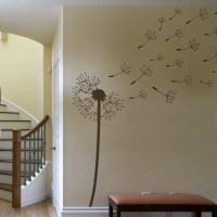 Dandelion Blowing in the Wind Wall Decal Extra Large