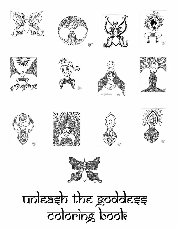 Unleash the Goddess Color packet by UnleashtheGoddess on Etsy
