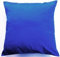 Blue Pillow Cover Silk Cobalt Blue Throw Pillow by ...