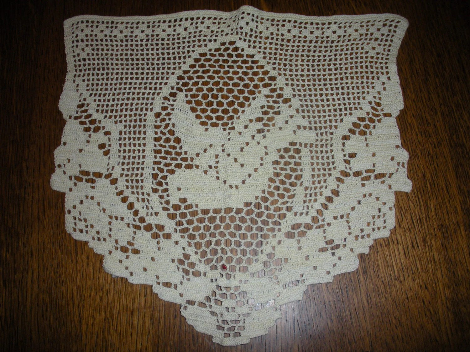 crochet christmas chair covers hanging rope vintage filet dove just in time for