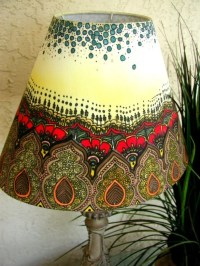Royal Henna Hand Painted Lamp Shade