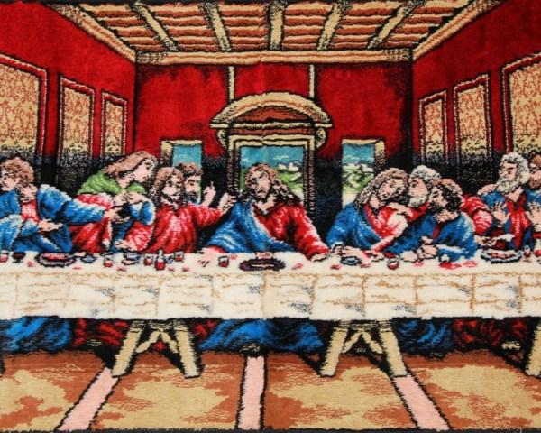 Vintage Last Supper Tapestry