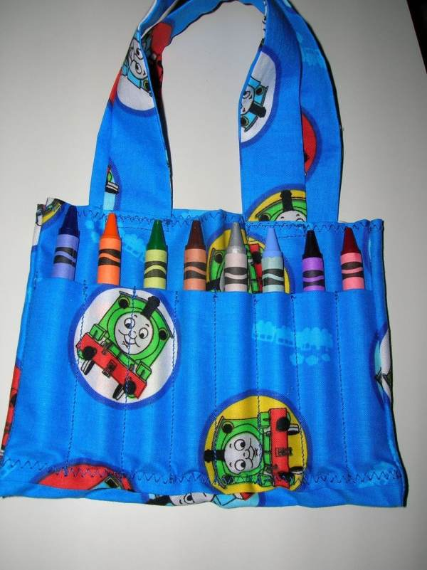 Thomas Train Crayon Carry Bag