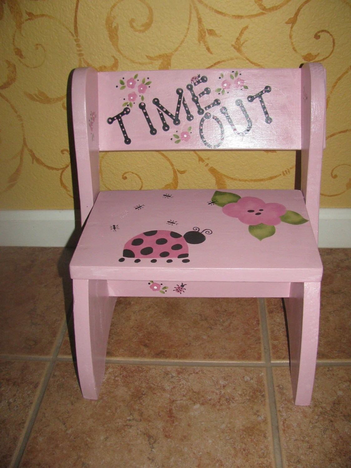 toddler chair with name covers lancashire step stool and time out
