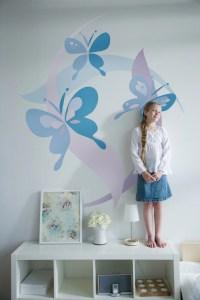 Kids Bedrooms, Small Bedrooms, Butterflies Murals