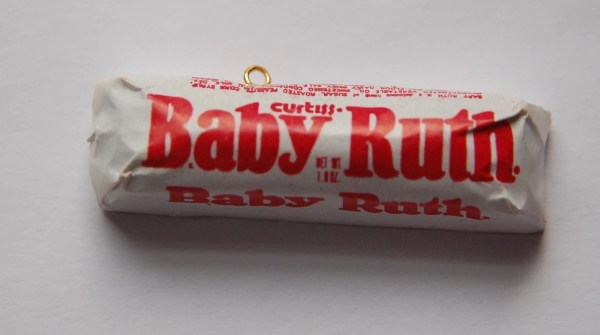 Vintage Baby Ruth Candy Bar Charm Pendant Chr023
