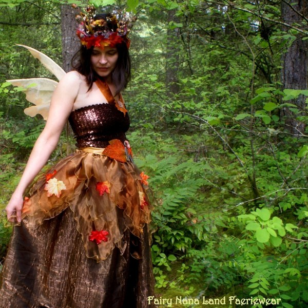 Autumn Fairy Costume Adult