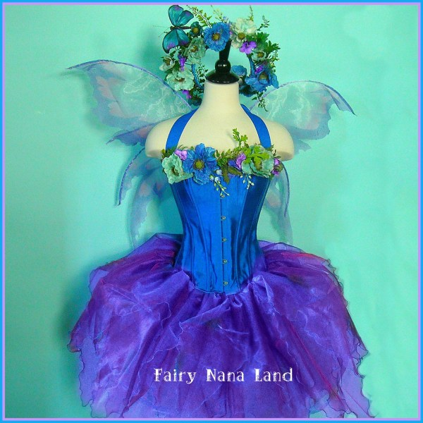 Items Similar Pre Halloween - Adult Costume- Fairy Costume Lavender Blue