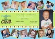 custom card collage baby