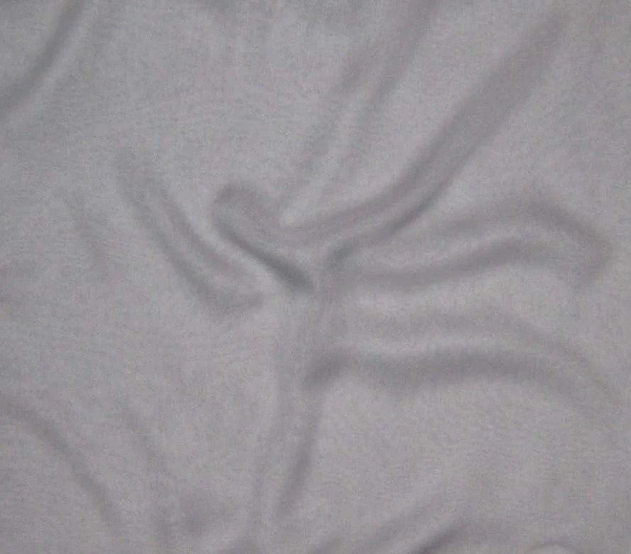 Silk Chiffon Fabric GRAY 1 Yard