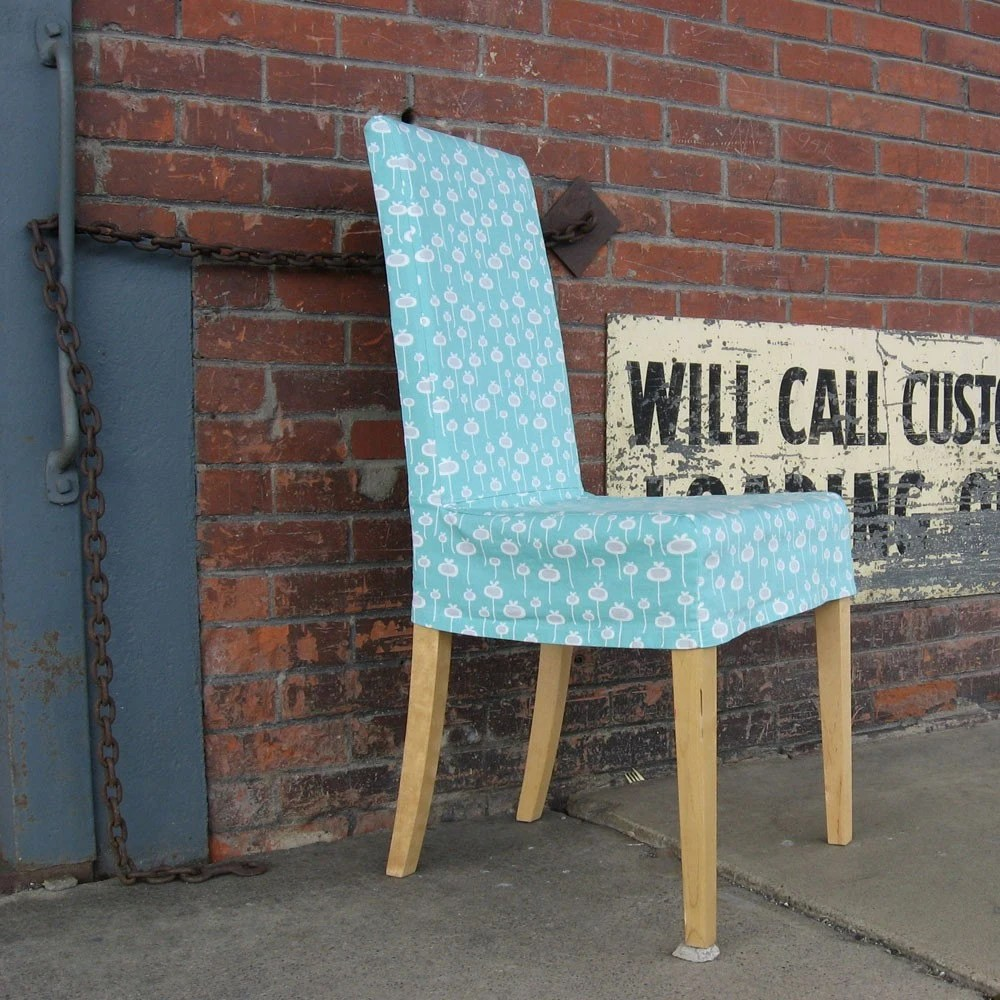 Sewing Tutorial Kitchen Chair Slipcover PDF by StudioCherie