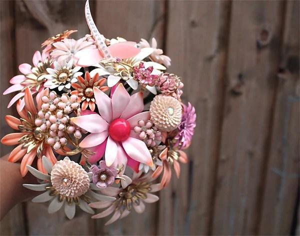 Bridal Brooch Bouquet EVER AFTER III Wedding Keepsake Made