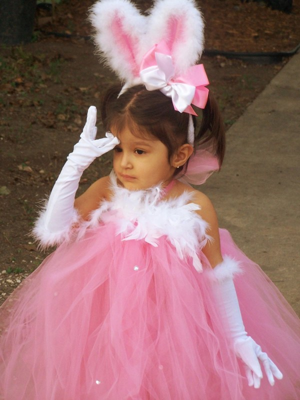 Boutique Pretty Bunny Tutu Dress Costume 12 Chiclillovebugs