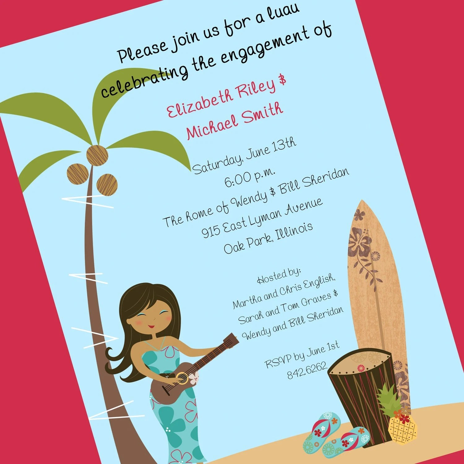 Print Your Own Bridal Shower Invitations