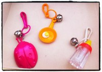 1980s Baby Bottle and I Love You Notepad Charms-reserved for