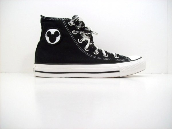Adult Custom Chuck Taylor Converse Mickey Mouse by
