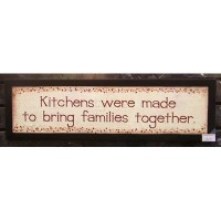 Items similar to Kitchens were made to bring families ...