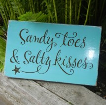 Beach Quotes Sandy Toes And Salty Kisses - Year of Clean Water