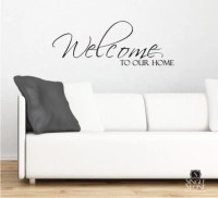 Wall Decals Welcome to Our Home Vinyl by singlestonestudios