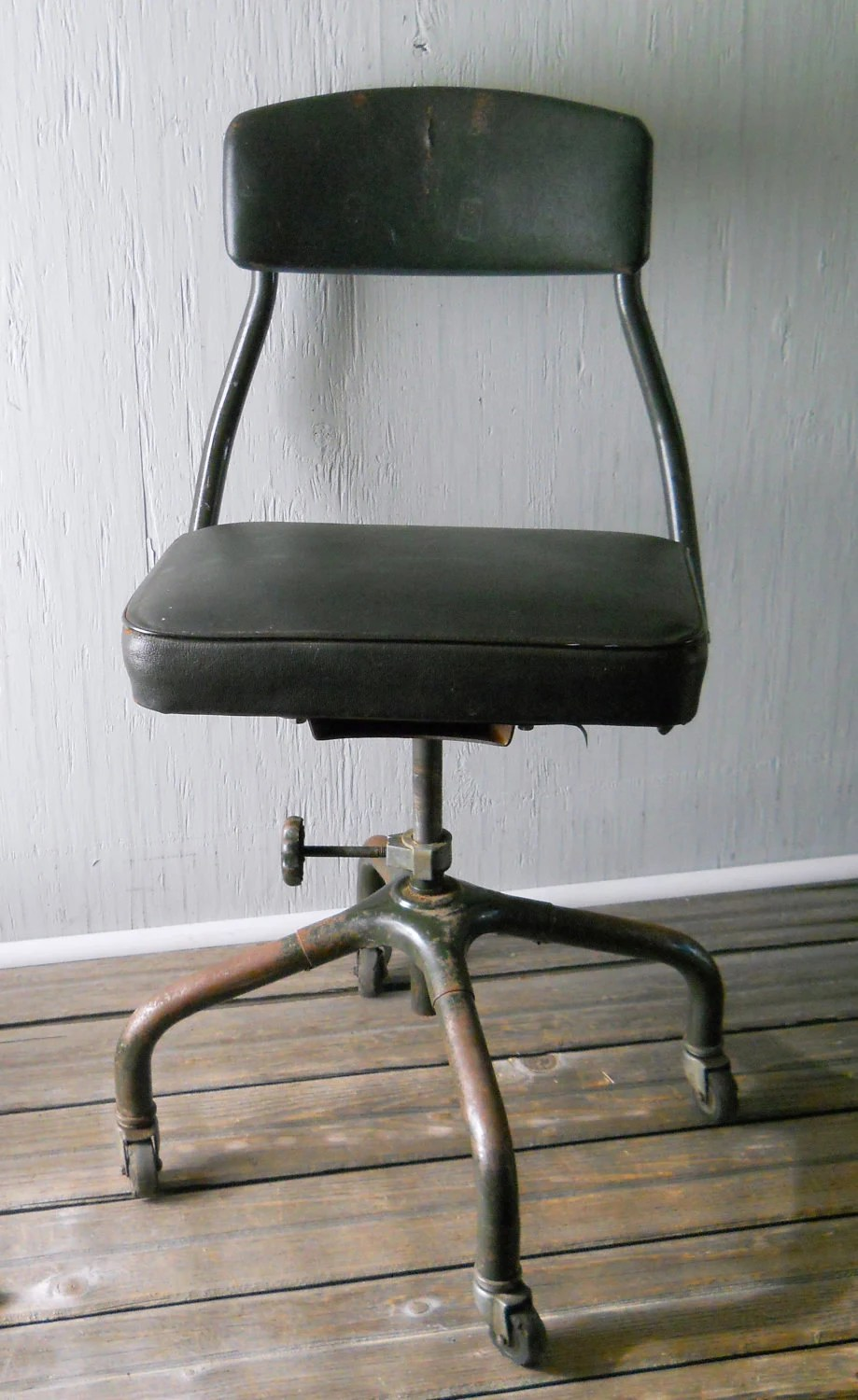 Office Chair Vintage Harter Swivel Rolling Office Chair