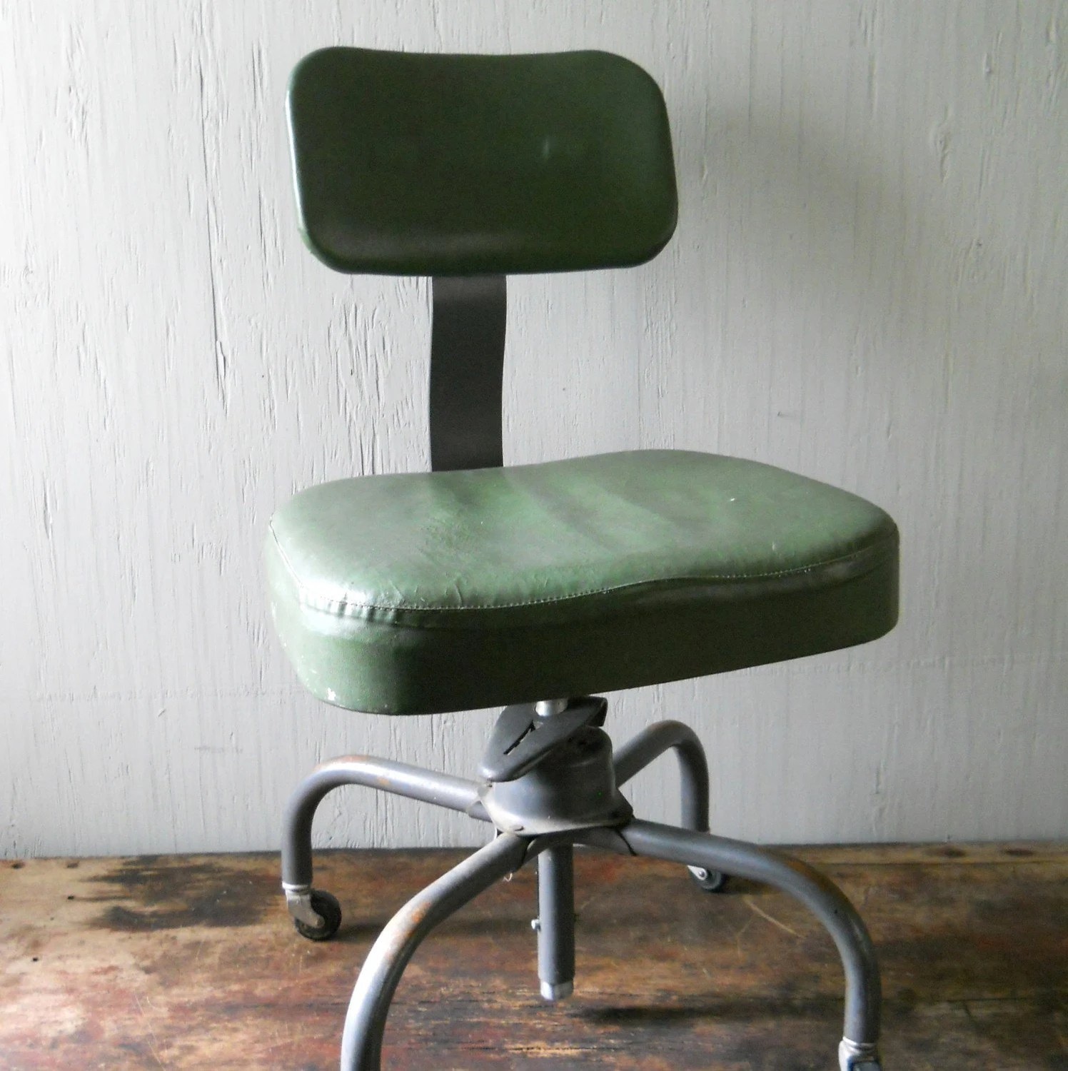steel chair for office kelly revolving vintage cole swivel reserved