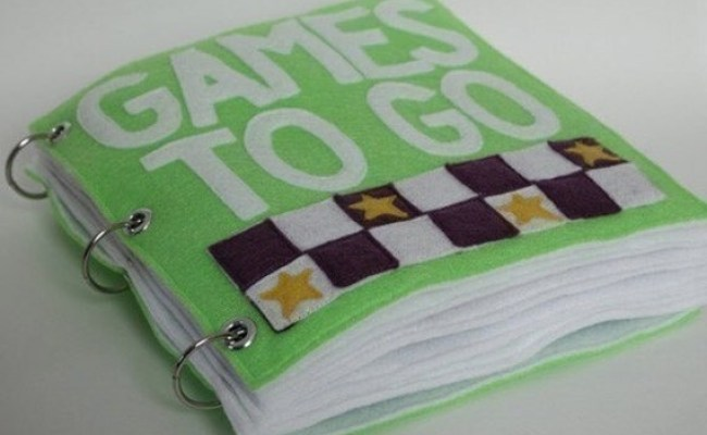 Games To Go Quiet Book Pattern Busy Book Pattern Travel