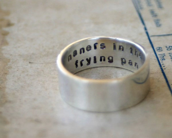 Secret Message Ring Sterling Silver E0250 Monkeysalwayslook