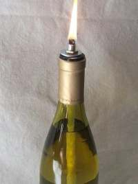Wine bottle oil lamp DIY kit set of 18 custom by ...