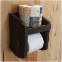 Primitive Toilet Paper Holder for the Bathroom Original ...