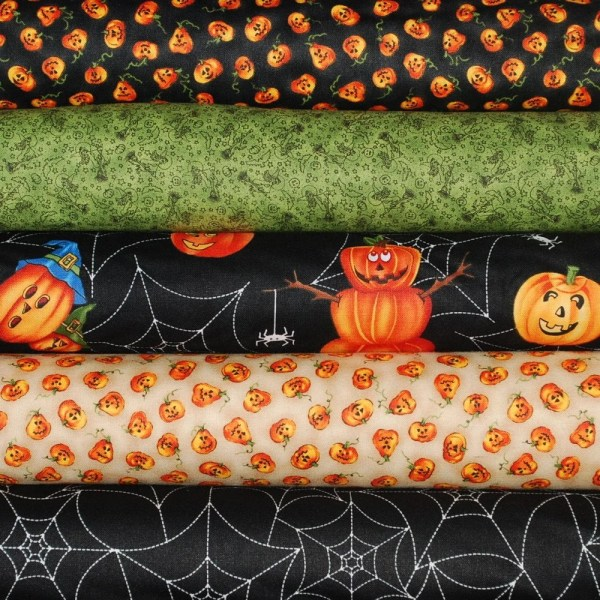 Scary Night Northcott Fabric Collection 5 Pieces Yds