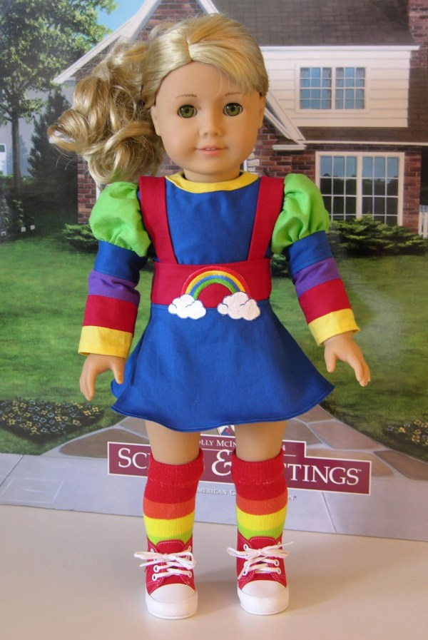 Rainbow Brite Costume American Girl 18 Doll