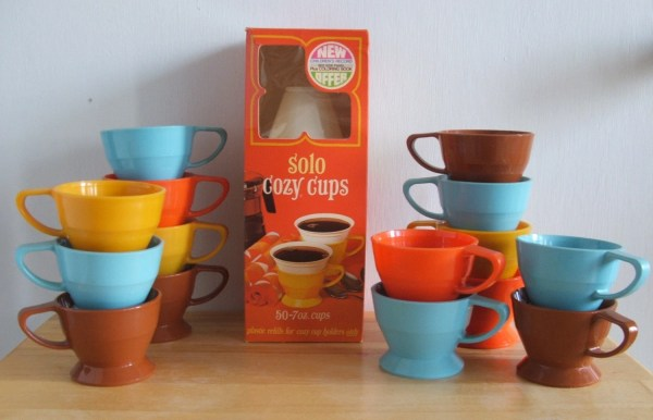 Vintage Solo Cozy Cups And Refils 15